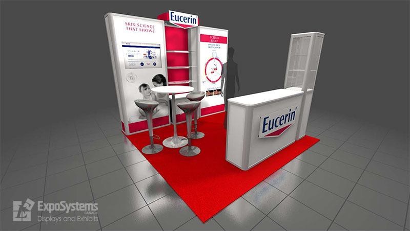 10 X 10 Booth Design Exposystems Canada Exhibits And