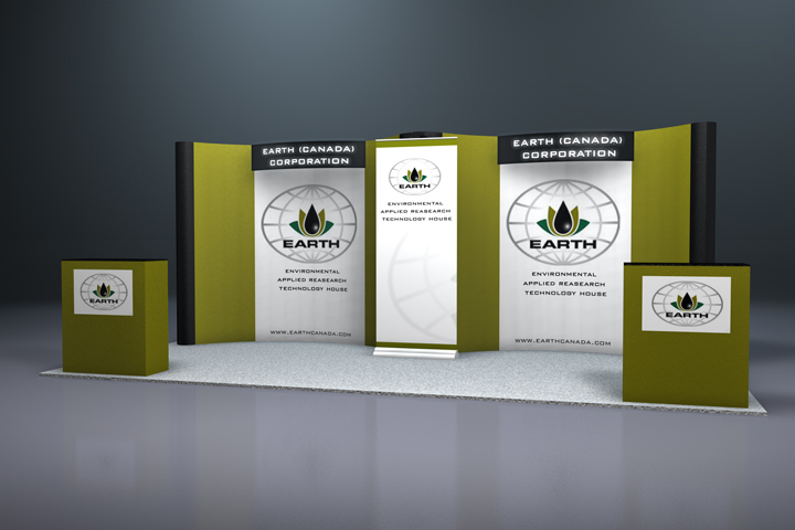 10 X 20 Booth Design Exposystems Canada Exhibits And