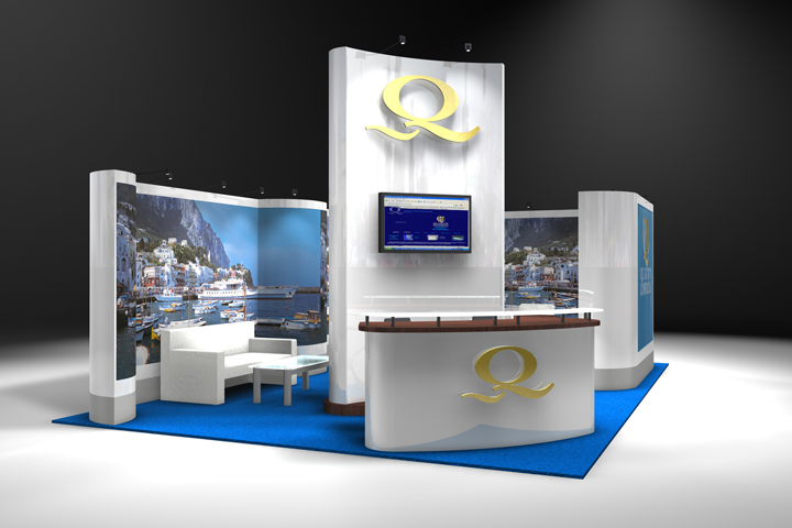 Trade Banner Stands : Booth design exposystems canada exhibits and