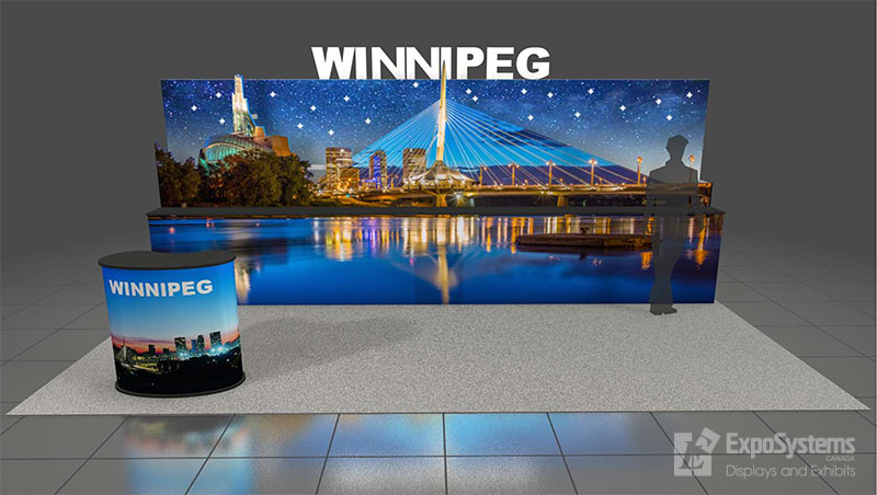 10 x 20 Booth Design - ExpoSystems Canada - Exhibits and