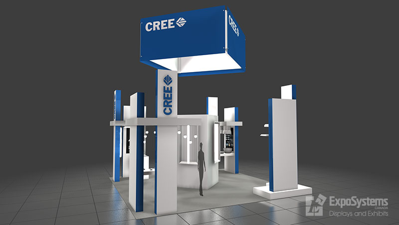 Trade Show Booth Exhibits : Booth design exposystems canada exhibits and