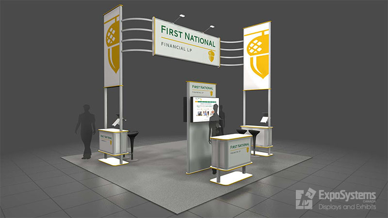 Expo Banner Stands : Booth design exposystems canada exhibits and