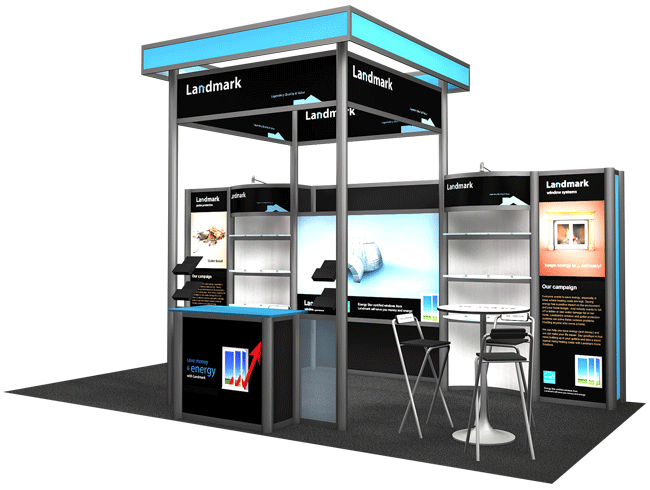 custom trade show booth kits